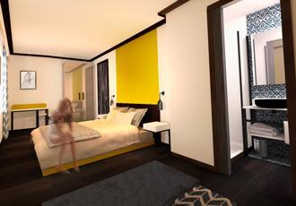hotel paris boa design agence architecture intériereure