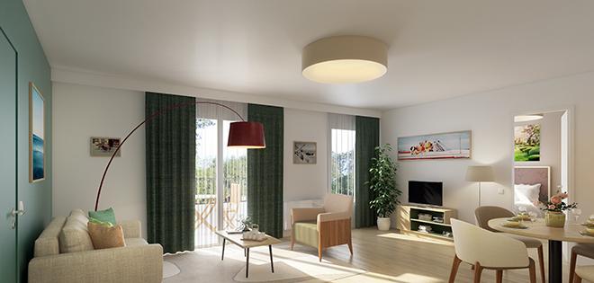 cogedim club résidences senior boa design architecture intérieure