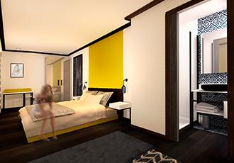 réalisation hotel paris design global boa design architecture intérieure